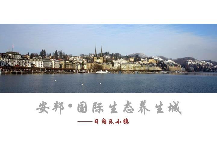沈阳安邦国际生态养生城项目概念规划63页资料文档截图