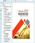 2019湖北农村统计年鉴384页