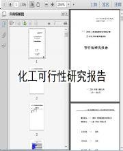 化工可行性研究报告